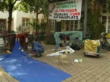 Migrationsaktionstag in Freiburg